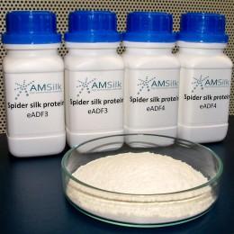 Spinnenseidenprotein von AMSilk