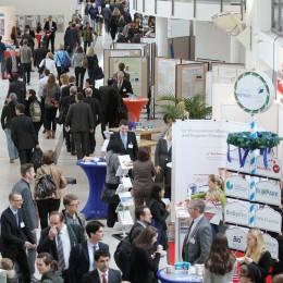 Industrieausstellung beim Life Science Forum 2014 an der TUM