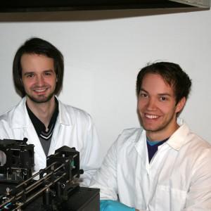 Jan Torgersen (links) und Peter Gruber von der TU Wien