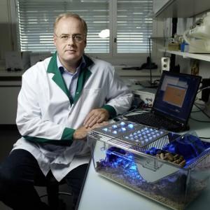 Martin Fussenegger in seinem Labor an der ETH Zürich.