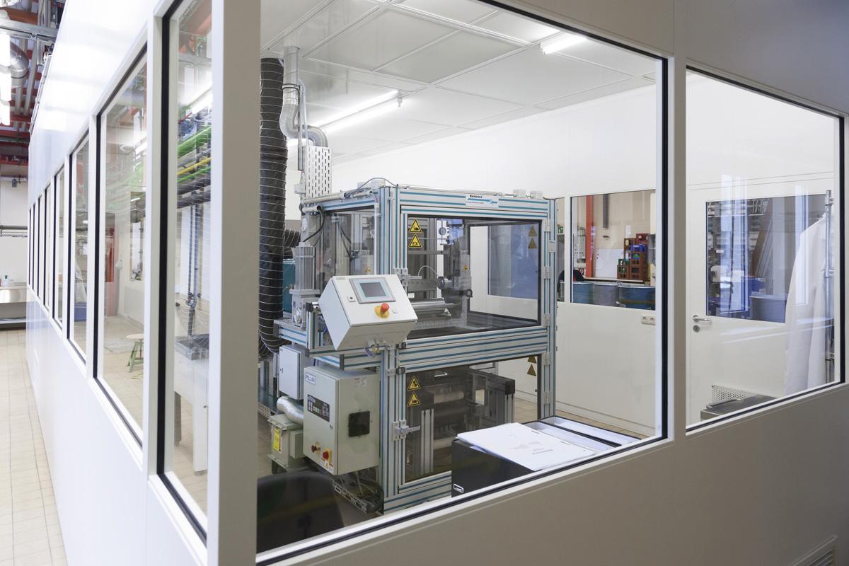 Herstellungsprozess EAPs bei Wacker Chemie