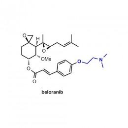 Chemische Formel von Beloranib gegen Fettleibigkeit