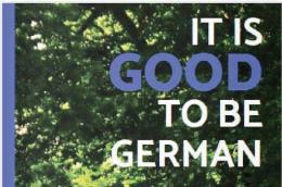 """William Toels Buch """"Es ist gut Deutscher zu sein. Quelle und Copyright: Webseite William Toel."""