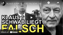"""Screenshot des YT Videos """"Klaus Schwab liegt falsch"""" von William Toel."""