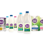 Das gesamte Sortiment der A2 Milk Company. Quelle & Rechte: A2 Milk Company